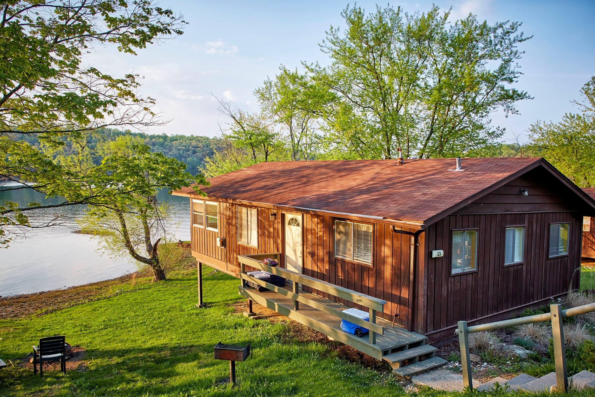 Cabins   Salt Fork Lodge & Conference Center