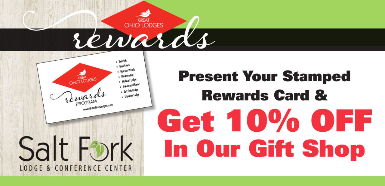 Rewards 10 Off In Gift Shop