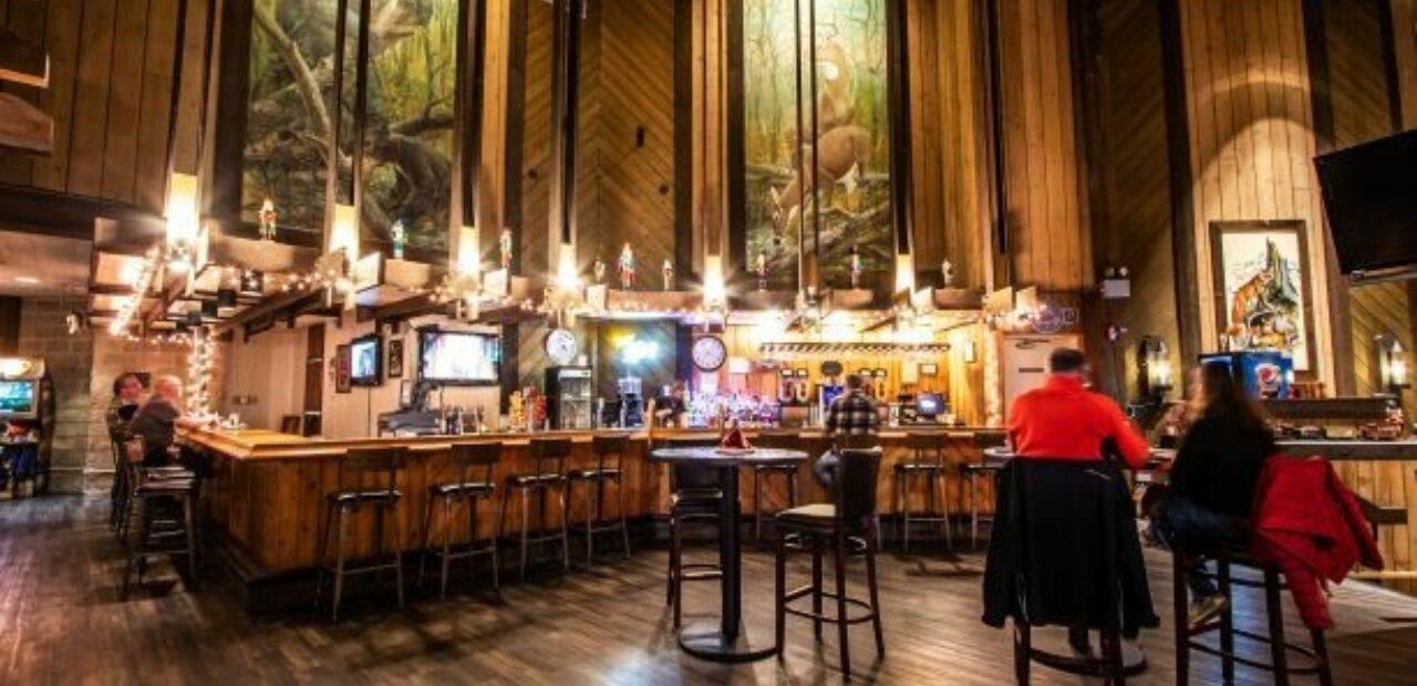 The Wildlife Lounge interior