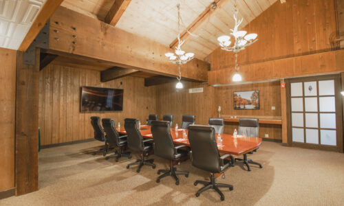 Salt Fork Lodge board room