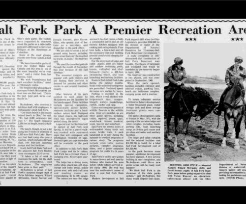 Salt Fork Park A Premier