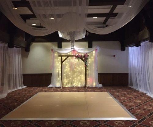Decorated Ballroom